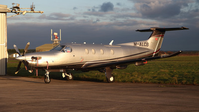 M-ALCB - Pilatus PC-12/47E - Private