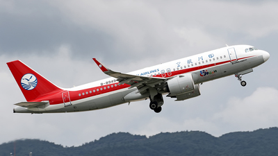 A picture of B8949 - Airbus A320271N - Sichuan Airlines - © lihutao