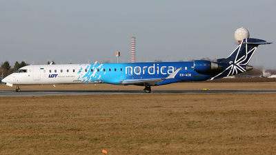 ES-ACB - Bombardier CRJ-900ER - LOT Polish Airlines (Nordica)
