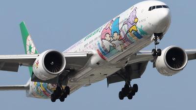 A picture of B16722 - Boeing 77736N(ER) - EVA Air - © CHA CHA