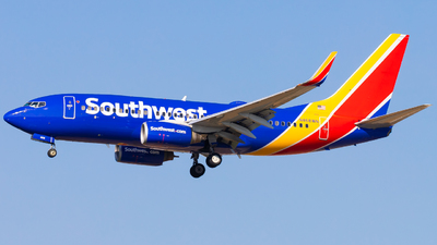 N468WN - Boeing 737-7H4 - Southwest Airlines
