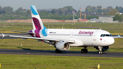 D-ABNK - Airbus A320-214 - Eurowings
