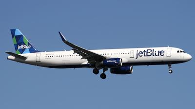 N972JT - Airbus A321-231 - jetBlue Airways