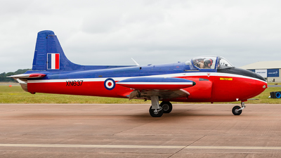 A picture of GBKOU - Hunting P84 Jet Provost T3 - [PAC/W/13901] - © Steve Smith