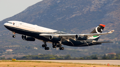 5A-ONE - Airbus A340-213 - Libya - Government