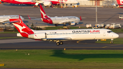 A picture of VHYQU - Boeing 7172BL - Qantas - © Leon Aviation
