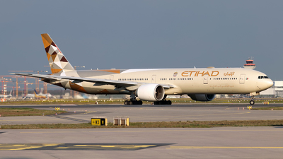 A picture of A6ETD - Boeing 7773FX(ER) - Etihad Airways - © JK Photography