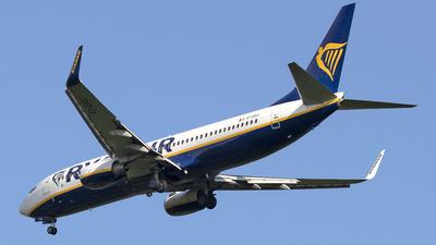 A picture of EIEKG - Boeing 7378AS - Ryanair - © Paul Spijkers
