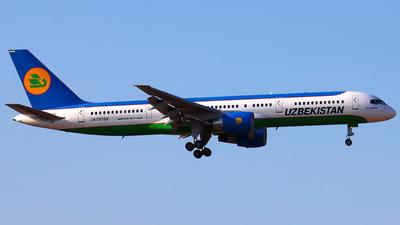 A picture of UK75702 - Boeing 75723P - Uzbekistan Airways - © YoungKyun Shin