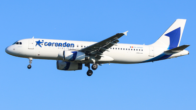 ER-00001 - Airbus A320-233 - Corendon Airlines Europe (FlyOne)