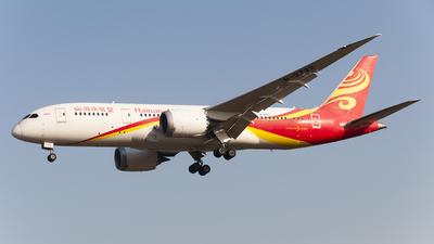 B-2722 - Boeing 787-8 Dreamliner - Hainan Airlines