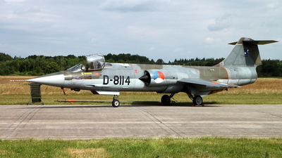 D-8114 - Lockheed F-104G Starfighter - Netherlands - Royal Air Force