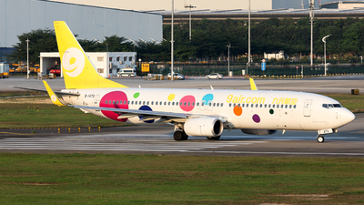 A picture of B1473 - Boeing 73786X - 9 Air - © Jack  Li