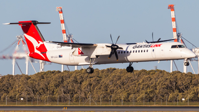 A picture of VHLQJ - De Havilland Canada Dash 8400 - QantasLink - © Will PH