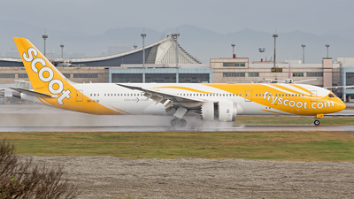 9V-OJB - Boeing 787-9 Dreamliner - Scoot