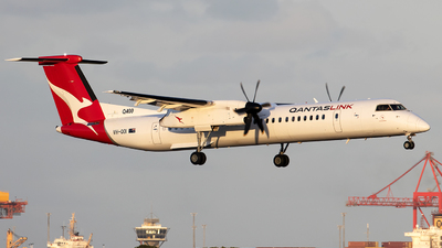 A picture of VHQOI - De Havilland Canada Dash 8400 - Qantas - © Daniel Benefield