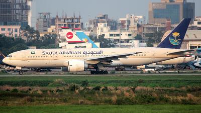 HZ-AKK - Boeing 777-268(ER) - Saudi Arabian Airlines