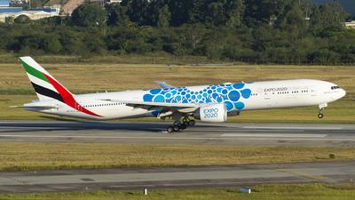A picture of A6ECC - Boeing 77736N(ER) - Emirates - © Lucas Sérgio