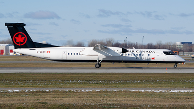A picture of CGGAH - De Havilland Canada Dash 8400 - Air Canada - © RZ