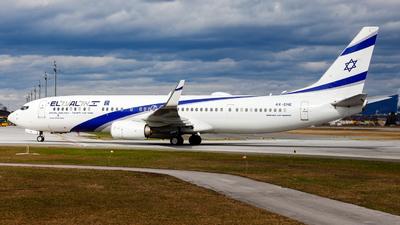 4X-EHE - Boeing 737-958ER - El Al Israel Airlines