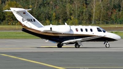 D-IHKW - Cessna 525 CitationJet 1 Plus - Private