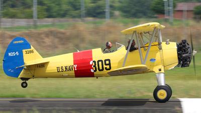 F-AZEE - Boeing N2S-5 Stearman - Private