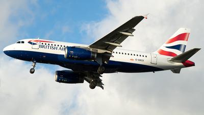 A picture of GDBCK - Airbus A319131 - British Airways - © Daniel Dominguez