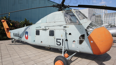 51 - Sikorsky S-58 - Chile - Navy