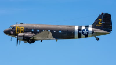 N15SJ - Douglas DC-3C - Private