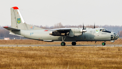87 - Antonov An-30 - Ukraine - Air Force