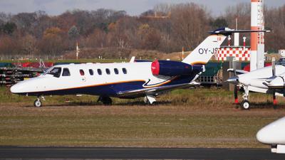 A picture of OYJSW - Cessna 525A CitationJet CJ2+ - Flexflight - © Yannick Schreiber