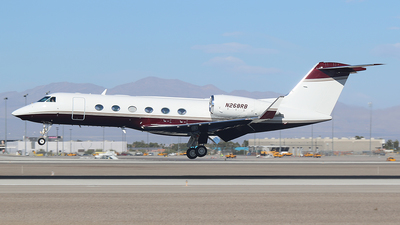 N268RB - Gulfstream G450 - Private
