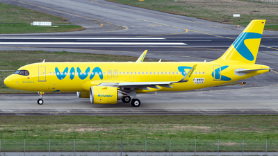 F-WWBH - Airbus A320-251N - Viva Air Colombia