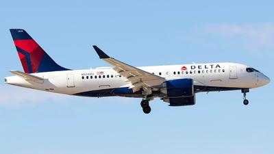 N124DU - Airbus A220-100 - Delta Air Lines