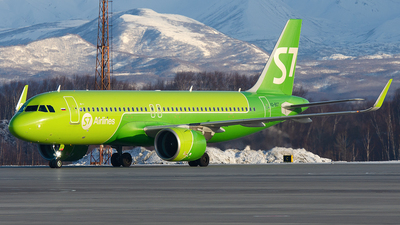 A picture of VQBGT - Airbus A320271N - S7 Airlines - © OSDU