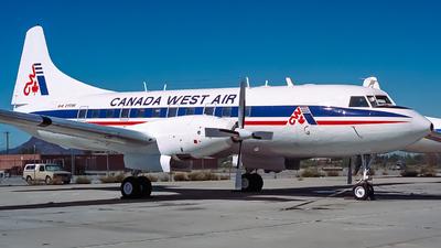 C-FCWE - Convair CV-640 - Canada West Air