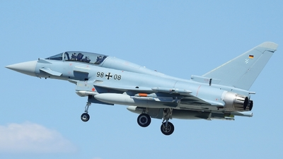 98-08 - Eurofighter Typhoon EF2000(T) - Germany - Air Force