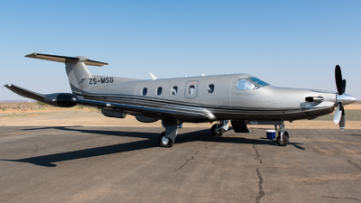 ZS-MSG - Pilatus PC-12/47E - Private