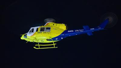 VH-XCK - Bell 412EP - LifeFlight Australia