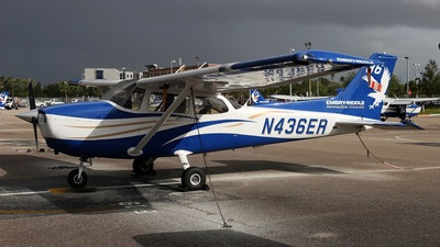 N436ER - Cessna 172S Skyhawk SP - Embry-Riddle Aeronautical University (ERAU)