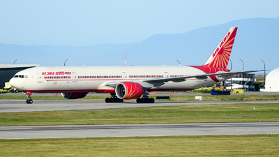 A picture of VTALR - Boeing 777337(ER) - Air India - © Chung Kwok