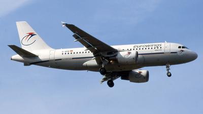 D-AKNI - Airbus A319-112 - Eurowings