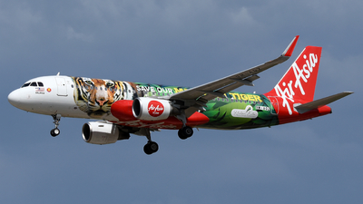 A picture of 9MAQZ - Airbus A320216 - AirAsia - © Vicknesh PS