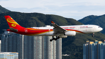 A picture of BLNN - Airbus A330343 - Hong Kong Airlines - © Jayden Fu