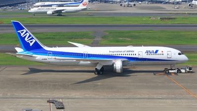 JA816A - Boeing 787-8 Dreamliner - All Nippon Airways (ANA)