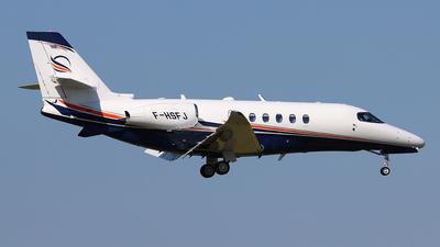 F-HSFJ - Cessna Citation Latitude - Private