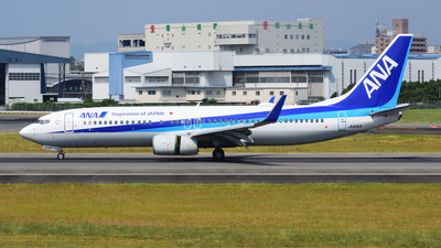 JA81AN - Boeing 737-881 - All Nippon Airways (ANA)