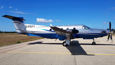 D-FEFY - Pilatus PC-12/47E - Private