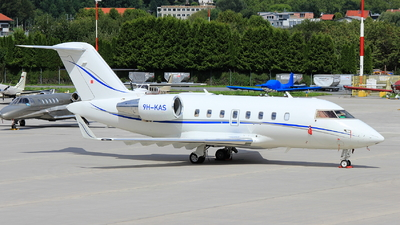 9H-KAS - Bombardier CL-600-2B16 Challenger 605 - Avcon Jet