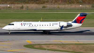N702BR - Bombardier CRJ-200ER - Delta Connection (SkyWest Airlines)